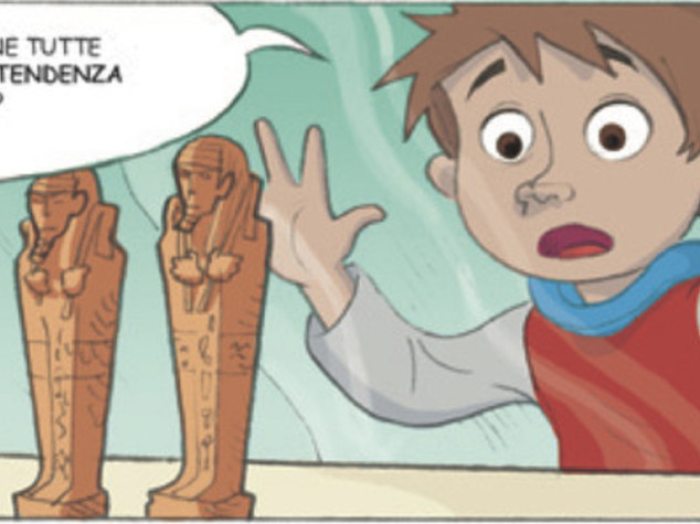 Riapre sezione Egizia Mann, un fumetto racconta i faraoni