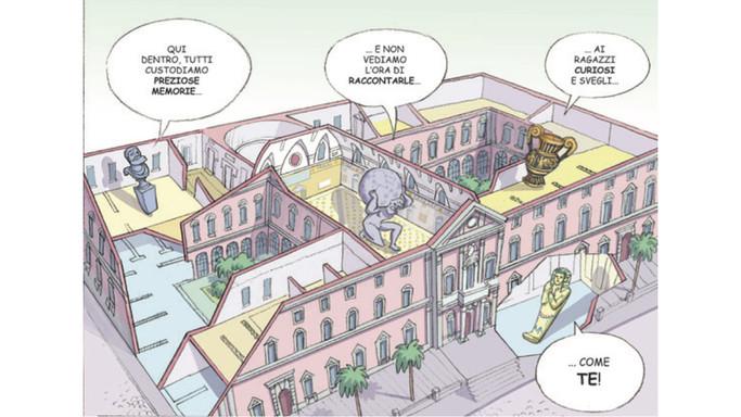 Riapre sezione Egizia Mann, fumetto racconta faraoni