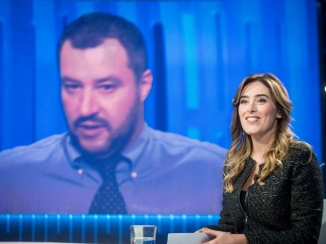 Referendum, faccia a faccia Boschi-Salvini