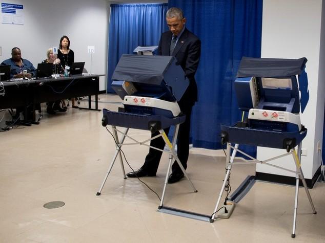 Barack Obama ha già votato