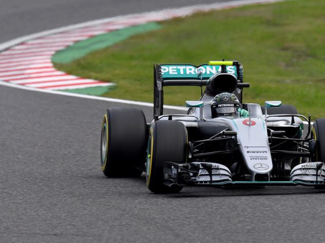 Gp Giappone, pole Rosberg, terzo Raikkonen. Vettel quarto miglior tempo
