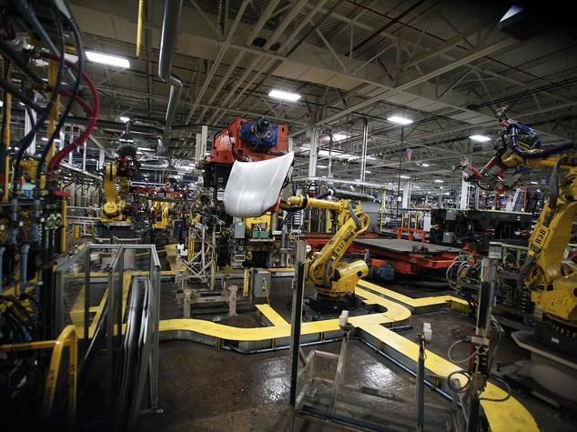 Boom produzione industriale ad agosto, +4,1% sul 2015