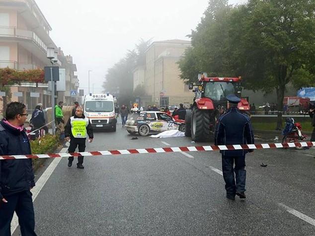 Tragedia al Rallylegend: confermata la morte di uno spettatore