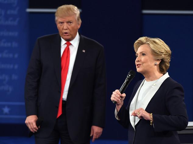 Attacchi feroci di Trump, ma la spunta Hillary -   VIDEO -   FOTO
