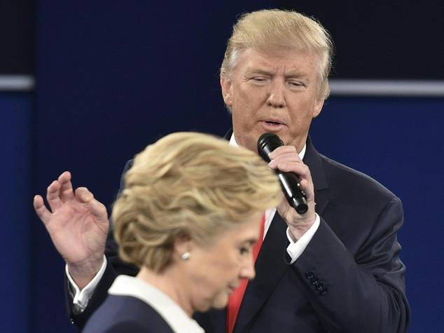 Dopo video sessista Clinton stacca Trump di 11 punti