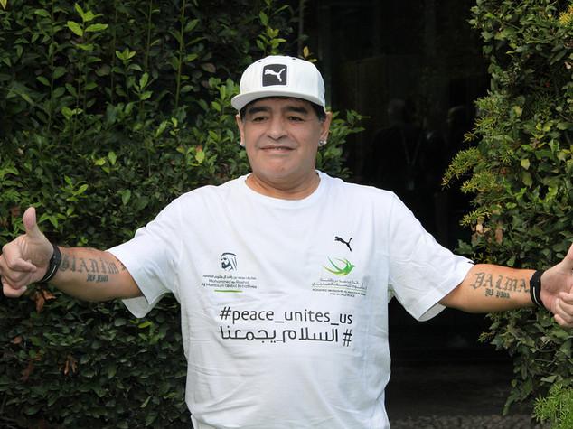 """Maradona allenatore della Lazio? """"Bella piazza per me e Giordano"""""""