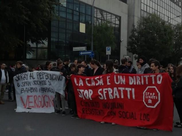 Occupazioni: Bologna,tafferugli con forze ordine durante sgombero