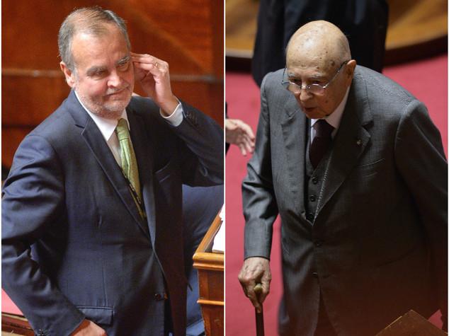 Referendum: scintille in Senato tra Napolitano e Calderoli