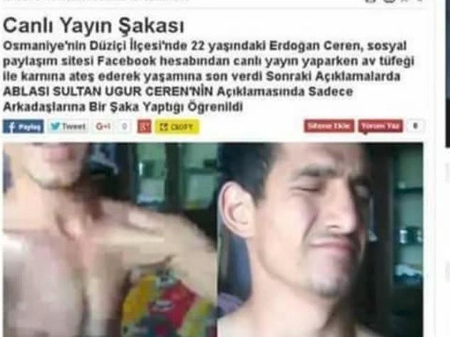 Suicida per amore in diretta Facebook, ma è una bufala