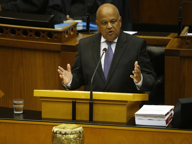 Emirates: Finance minister Gordhan charged with fraud