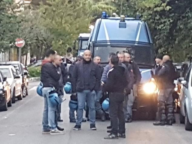 """Roma, sigilli al centro sociale """"Corto circuito"""""""