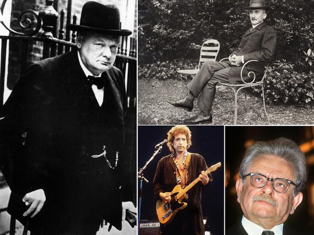 """Nobel, da Churchill a Dylan,quando il premio va agli """"irregolari"""""""