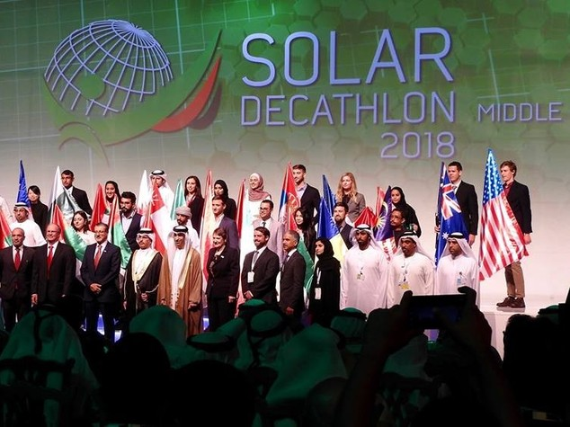 Rome University included in Solar Decathlon Middle East