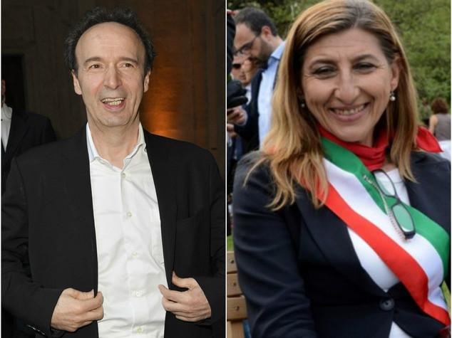 Benigni e sindaco Lampedusa da Obama con Renzi