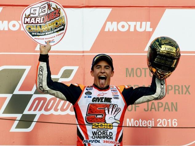 Marc Marquez si laurea campione al Gran Premio del Giappone
