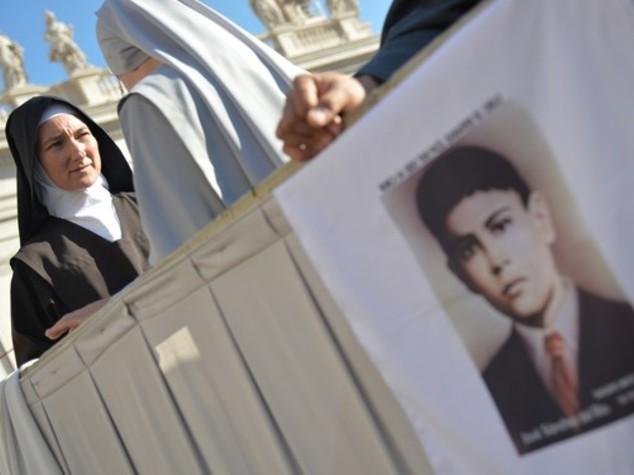 Il Papa fa santo un martire quindicenne