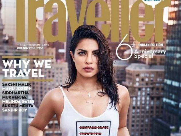 Copertina contro migranti, star di Bollywood sotto accusa