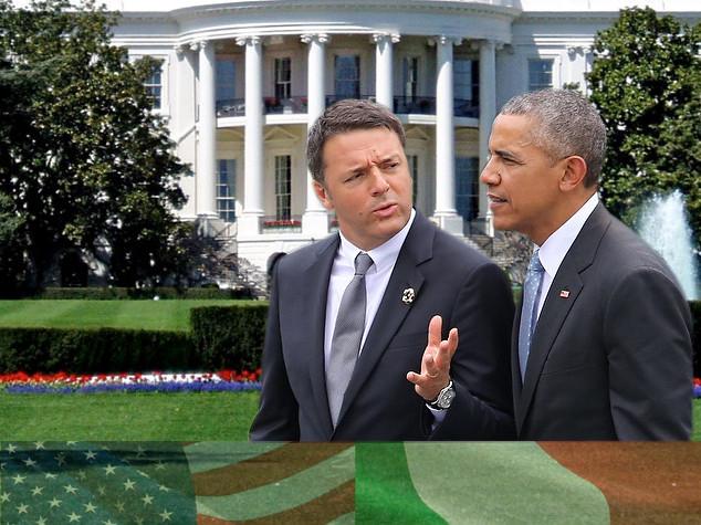 Renzi ricevuto da Obama - diretta