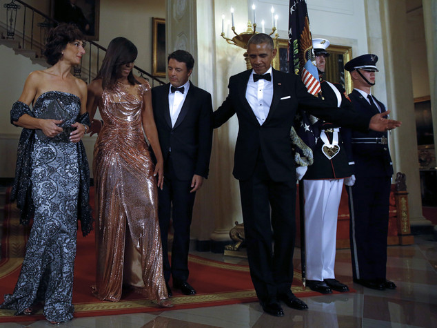 """""""State dinner"""", brillano le first lady"""