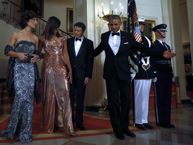 """State dinner"", brillano le first lady"