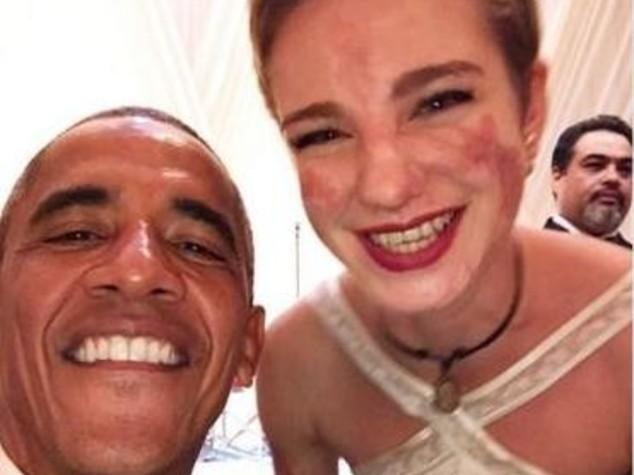 Bebe Vio strappa un selfie con Obama