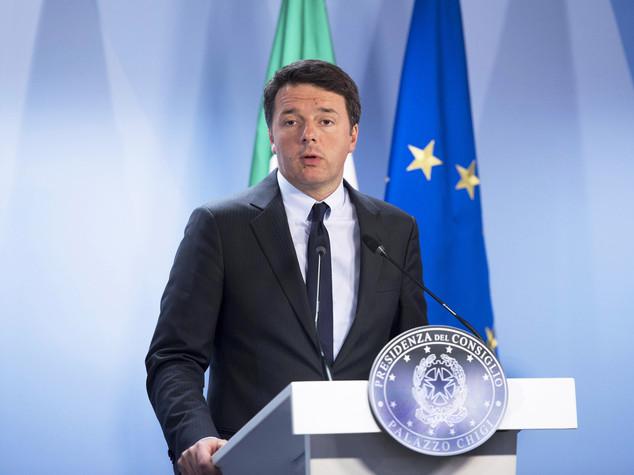 """Ue, Renzi all'attacco """"mai chiesta più flessibilità"""""""
