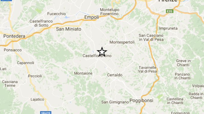 Nessun danno per il terremoto a Firenze