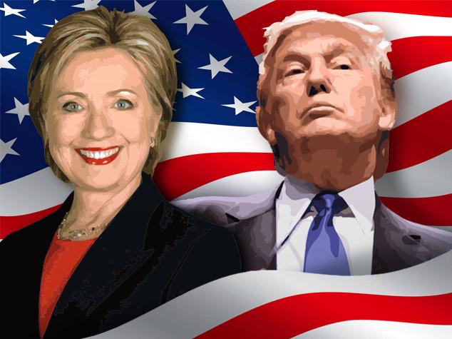Boom di donazioni per Hillary Clinton, Donald Trump incassa di meno