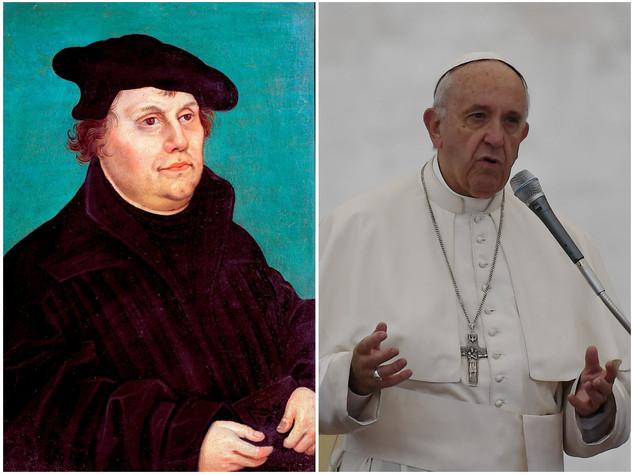 Papa rende merito a Lutero,