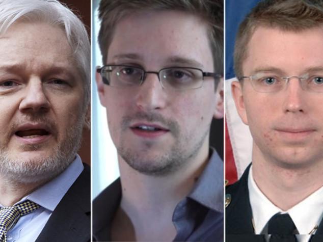 Risultati immagini per Chelsea Manning e Assange immagini