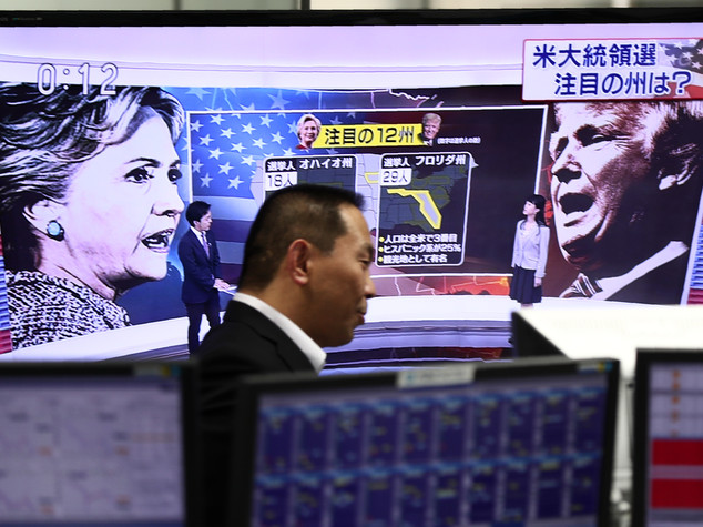 'Effetto Trump', in calo Wall Street e borse asiatiche