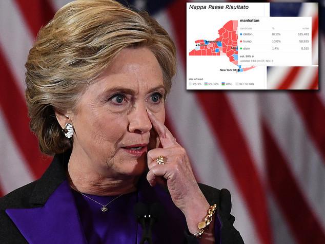 Hillary Clinton ha perso perché ha stravinto a San Francisco e Manhattan