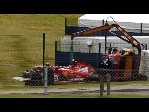 F1: Rikkonen not penalised for Silverstone accident