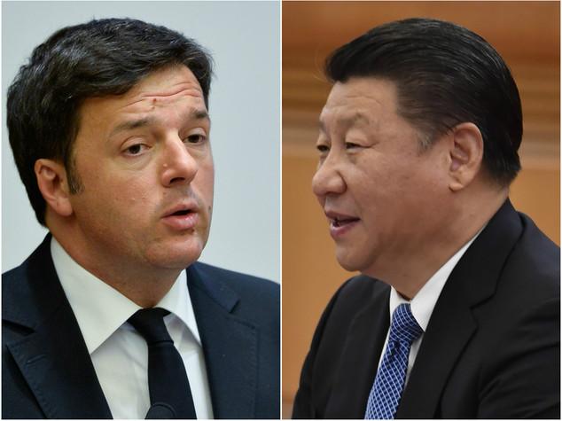 Mercoledì vertice informale Renzi-Xi Jinping