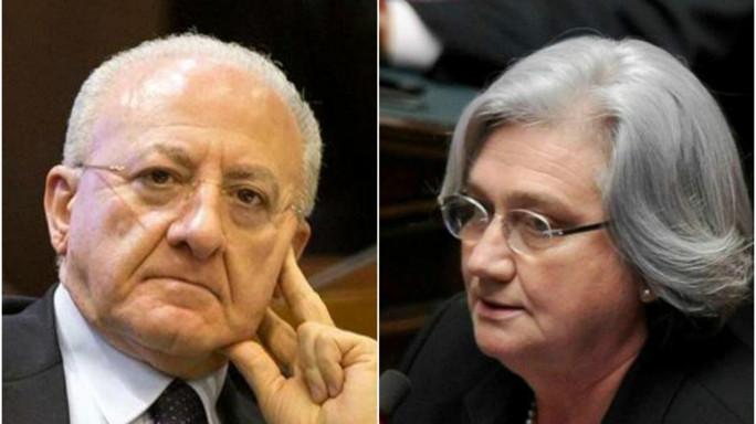"""De Luca choc, """"la Bindi da ucciderla..."""""""