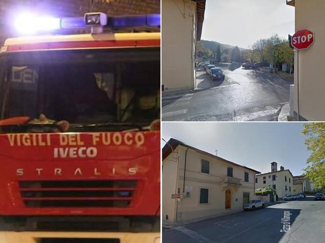 Firenze crolla palazzina tre persone estratte vive - Via villamagna 113 bagno a ripoli ...