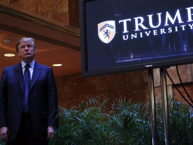 Trump University: il neo presidente USA accetta il patteggiamento