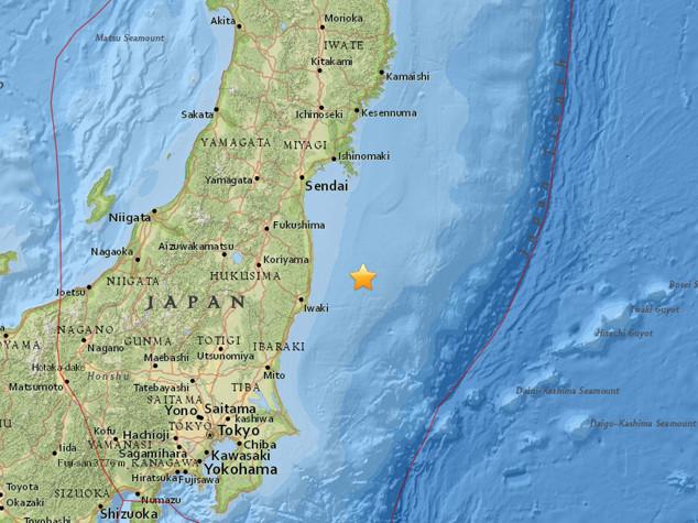 Terremoto 6.9 in Giappone, allarme tsunami nel mare di Fukushima