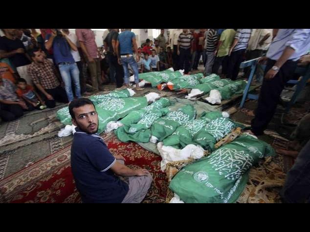 M.O.: a Gaza oltre 550 morti in 14 giorni di offensiva israeliana