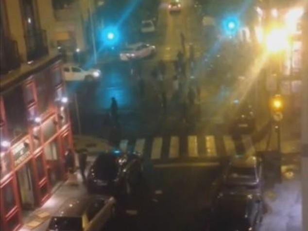 Ultras Siviglia assaltano juventini