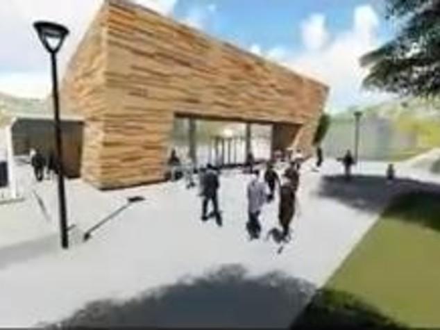 Terremoto, come sarà il nuovo centro culturale di Amatrice