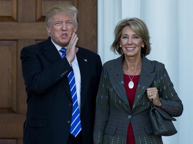 Betsy DeVos, una miliardaria a capo dell'istruzione