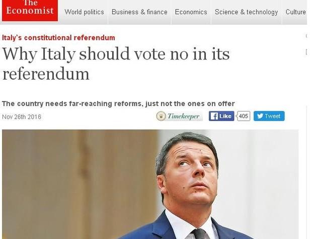 Referendum: Renzi, Comitato per il No vuole la rissa