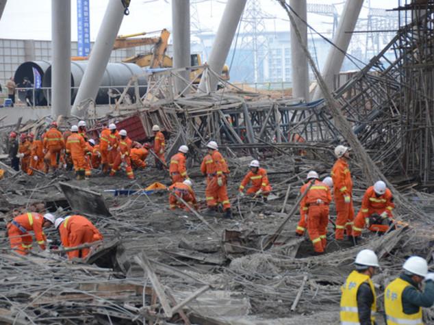 Jiangxi. Crolla piattaforma in costruzione almeno 40 morti