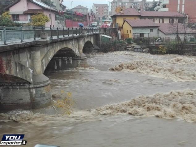 Emergenza maltempo in Piemonte e Liguria, paura per fiumi in piena