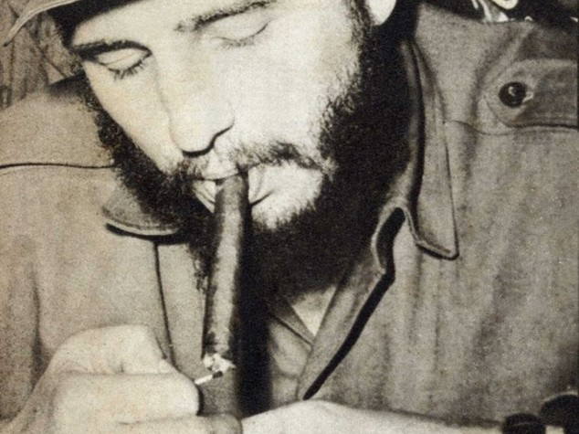 Il sigaro di Fidel Castro, simbolo di una rivoluzione
