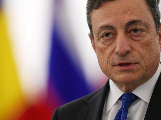 Draghi, la ripresa continua a un ritmo moderato ma stabile