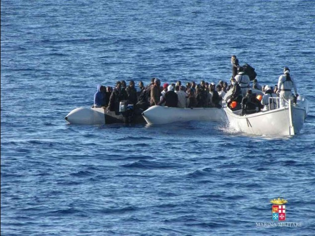 Boat of immigrants rescued off Sicily with 30 dead