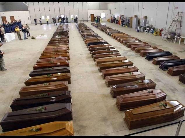 """Due anni fa la strage di Lampedusa. Mattarella, """"fu una vergogna"""" - FOTO"""