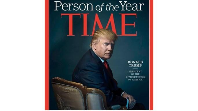 Trump persona dell'anno di Time